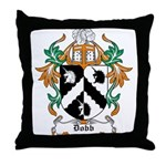 Dobb Coat of Arms Throw Pillow