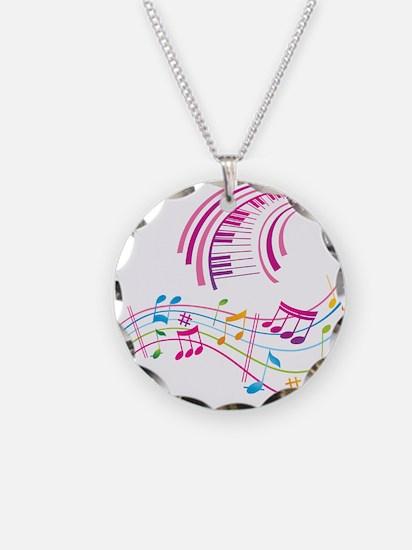 Music Art Necklace