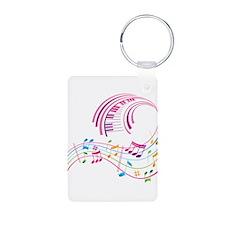 Music Art Keychains