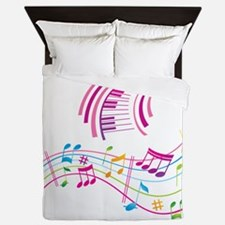 Music Art Queen Duvet