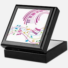 Music Art Keepsake Box
