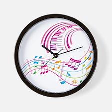 Music Art Wall Clock