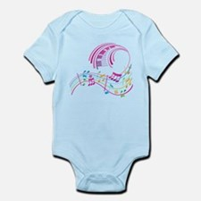 Music Art Infant Bodysuit