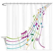 Music Art Shower Curtain