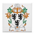 Denn Coat of Arms Tile Coaster