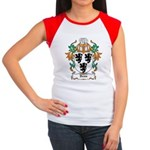 Denn Coat of Arms Women's Cap Sleeve T-Shirt