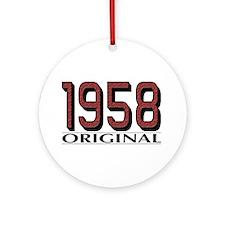 1958 Original Ornament (Round)