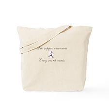 brain aneurysm awareness Tote Bag