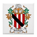 Delahyde Coat of Arms Tile Coaster
