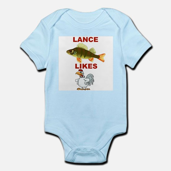 Lance Bass Likes Rooster Infant Creeper