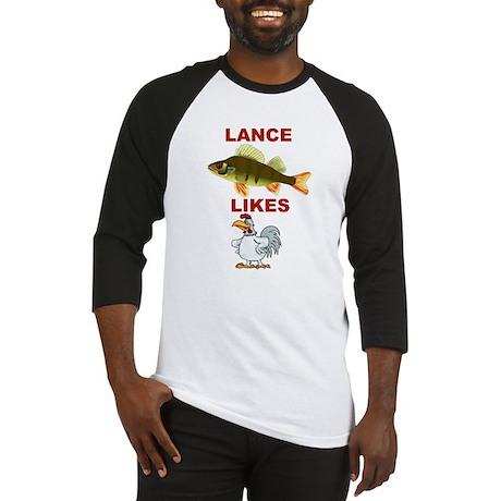 Lance Bass Likes Rooster Baseball Jersey