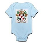 Delahay Coat of Arms Infant Creeper