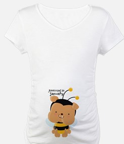Arriving In January Bee Shirt