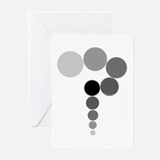 Gray Question Mark Greeting Cards (Pk of 10)