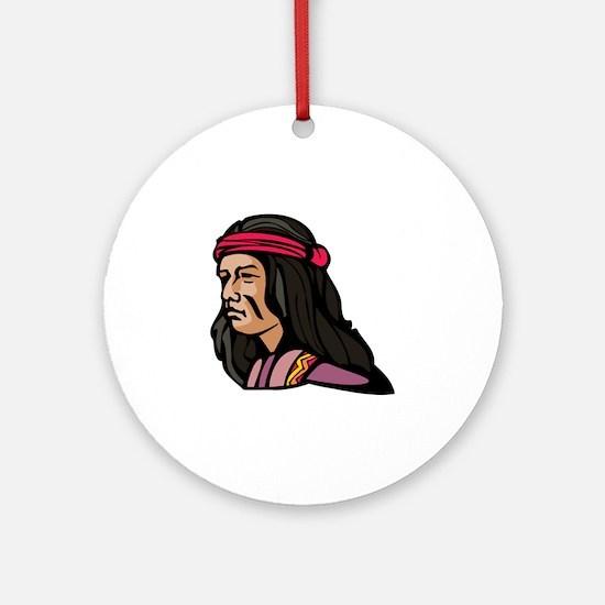 Native American Culture Ornament (Round)