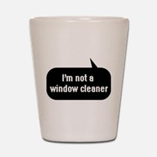 IT Crowd - I'm not a window cleaner Shot Glass