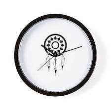 Native American Culture Wall Clock