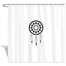 Native American Culture Shower Curtain