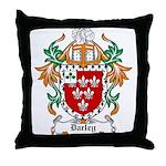 Darley Coat of Arms Throw Pillow
