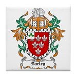 Darley Coat of Arms Tile Coaster