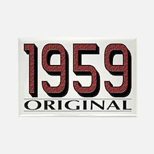 1959 Original Rectangle Magnet