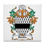 Dardis Coat of Arms Tile Coaster