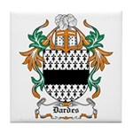 Dardes Coat of Arms Tile Coaster