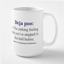 Left-handed Deja Poo Mug