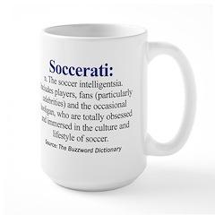 Left-handed Soccerati Mug