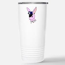 Badge Bunny Stainless Steel Travel Mug