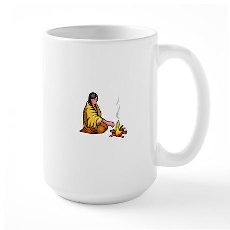 Native American Culture Large Mug