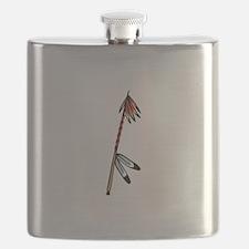 Native American Culture Flask