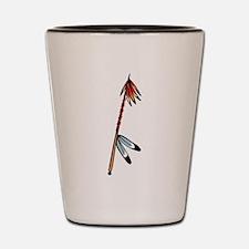 Native American Culture Shot Glass