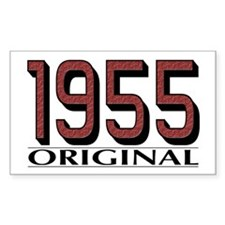 1955 Original Rectangle Decal