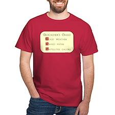 Geocachers Creed T-Shirt