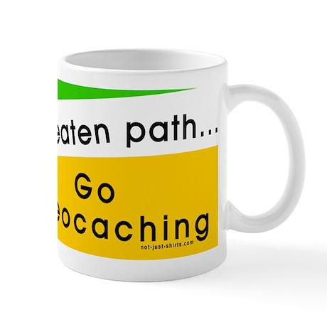 Geocaching Off the Path Mug