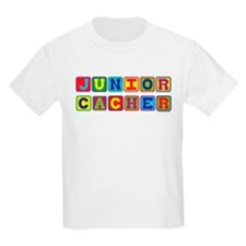 Geocaching Junior Cacher Kids T-Shirt