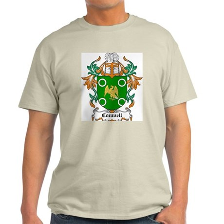 Conwell Coat of Arms Ash Grey T-Shirt