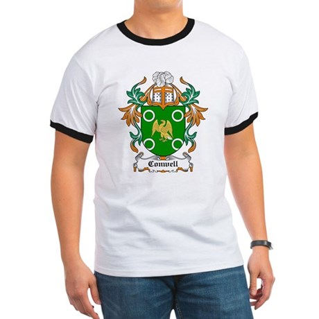 Conwell Coat of Arms Ringer T