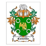 Conville Coat of Arms Small Poster