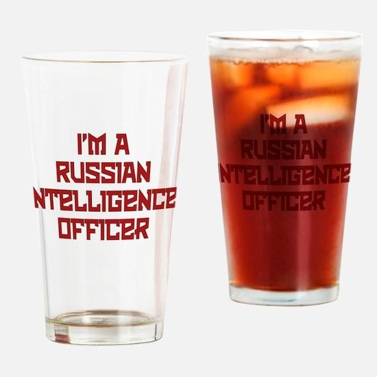 Russian Intelligence Officer Drinking Glass