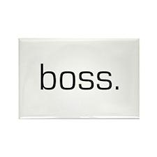 Boss Rectangle Magnet