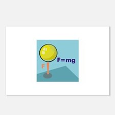 Physics Postcards (Package of 8)