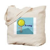 Physical science Regular Canvas Tote Bag