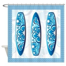Sufrboards Shower Curtain