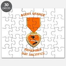 Agent Orange Puzzle