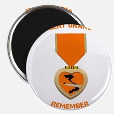 "Agent Orange 2.25"" Magnet (10 pack)"
