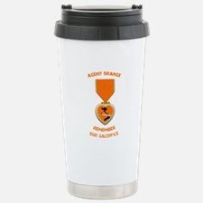Agent Orange Stainless Steel Travel Mug