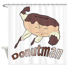 Donutman Shower Curtain