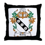 Carey Coat of Arms Throw Pillow